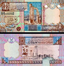 LIBIA - Libya 1/4 dinar 2002 FDS - UNC