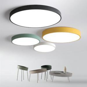 18-48W Ultraslim LED Rund Lampe Leuchte Deckenlampe Deckenleuchte Macarons Farbe