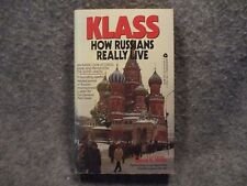 Klass : How Russians Really Live by David K. Willis 1987 Paperback Book Avon