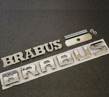 Brabus Grill & Rear Badge Emblem Decal Mercedes Smart Boot Trunk Tailgate 31s