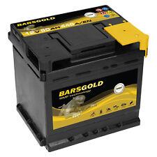 Autobatterie Bars Gold 12V 50Ah 440A Wartungsfrei ersetzt 44Ah 46Ah 48 Ah