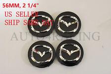 4 Pcs Mazda 3 5 6 CX-7 CX-9 Miata 626 MPV Millenia WHEEL CENTER HUB CAP 56-57 MM