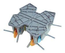 CIC 21-135 Six-Leg Walking Type Gearbox Kit - Robot Twin Motor DIY Educational