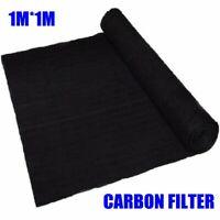 1m*1m*3mm Air Conditioner Activated Carbon Purifier Pre Filter Fabric Thickness