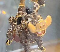 NEW DISNEY Parks Jeweled PUMBAA LION KING by Arribas Swarovski® Crystals Figure