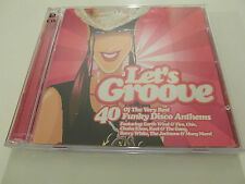 Lets Groove - Various (2 x CD Album) Used Very Good