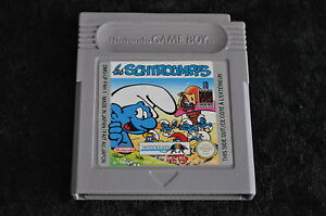 Gameboy classic Les schtroumpfs