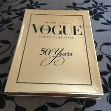 LIMITED EDITION VOGUE. ANNIVERSARY ISSUE. 50 YEARS. 2009. IN CASE