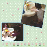 Children Tap Cartoon Toddler Hands Hand Elephant Extender Washing Faucet Water