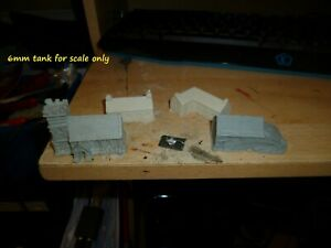 6mm Village 4 pieces resin new Grendal