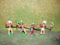 4 DDR Indianer Nr: 049-050-051  selten bis sehr selten
