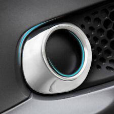 Chrome Front Fog Light Cover Bumper Lamp Bezel Fit Smart Fortwo Coupe