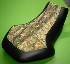 Suzuki king quad 700 750 CAMO & BLACK seat cover FITS ALL YEARS