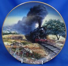 GRESHAM TRAINS OF THE ORIENT EXPRESS COLLECTOR PLATE - GREECE