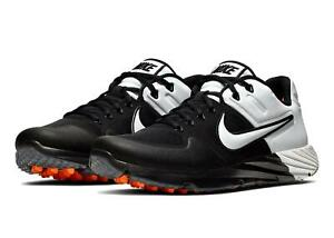 Nike Alpha Huarache Elite 2 TF Turf Baseball Shoes (Black/White) AJ6877-004