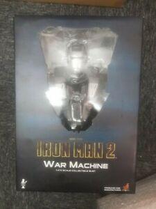 Warmachine War Machine Iron Man 2 Hot Toys Bust 1/4 Scale bib