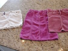 Girls Corduroy Skirts Size 6X Levi's CHAPS Children's Place Lot of 3 GUC