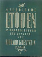 Richard Krentzlin : Melodische Etüden in präludienform op. 200, Band 2