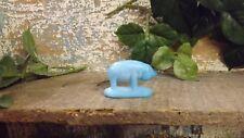 Vintage Summit Art Glass Blue Pig (Label Is Still On It)