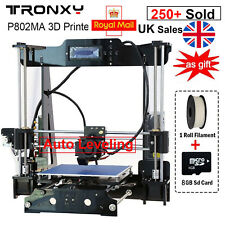 UK STOCK Full Quality High Precision Reprap i3 DIY 3D Printer Kit Auto MK8 LCD++