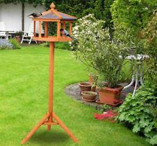 PawHut Garden and Backyard Bird Feeder Coop Table Station