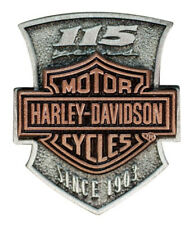 Harley-Davidson 115th Anniversary 2D Die Struck Pin, Limited Edition P260232