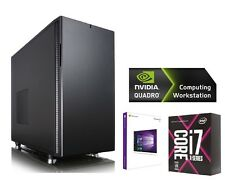 CAD Rendering PC Workstation Intel i7 7800X NVIDIA Quadro P2000 CAM SERVER 001