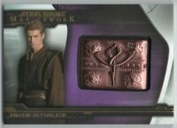 2019 Star Wars Masterwork Medallions Purple MC-ASB Anakin Skywalker 37/50