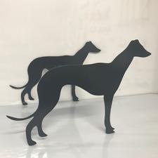 Greyhound Dog Floor Standing Garden Patio Planter Flower Pot Holder