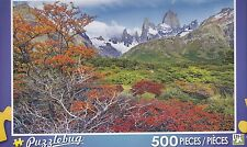 New Puzzlebug 500 Piece Jigsaw Puzzle ~ Colorful Autumn at Mt. Fitz Roy