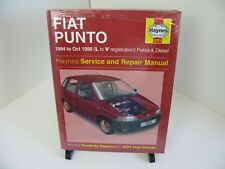 Fiat Punto Haynes Manual 1994-00 1.1 1.2 Petrol 1.7 Diesel Workshop #3251 New