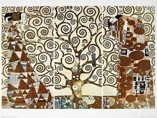 Gustav Klimt Lebensbaum Poster Kunstdruck Bild 60x80cm