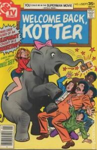 Welcome Back Kotter #6 VG/FN 5.0 1977 Stock Image Low Grade