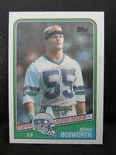 1988 Topps Football Pack Fresh #144 Brian Bosworth NM-MT Seahawks Rookie