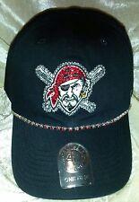 Pittsburgh Pirates Women's 47 Brand Pirate Rhinestone MLB Baseball Cap Hat ~NEW~
