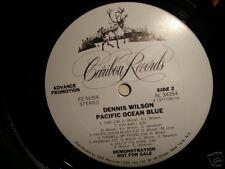 Vinyl LP Dennis Wilson Pacific Ocean Blue WL Advance DJ