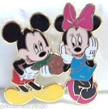 Disney Mickey & Minnie Fun With Flowers Le 250 Pin New