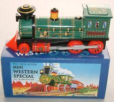 TINPLATE : MINI WESTERN SPECIAL TRAIN TINPLATE MODEL MADE BY MASUDAYA IN 1997