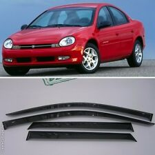 For Dodge Neon II Sd 1999-2003 Window Visors Side Sun Rain Guard Vent Deflectors