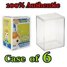 Funko Pop Stacks Premium Hard Shell Plastic Protector Stackable - Set Case of 6