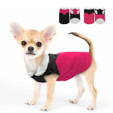 Waterproof Dog Clothes Winter Warm Coat Fleece Jacket for Small Dogs & Lead Ring