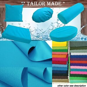 PL22-TAILOR MADE Teal Blue Outdoor Waterproof Sun Umbrella Patio sofa seat cover