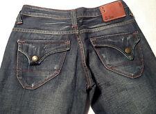EUC - RRP $369 - Womens Stunning G-Star Raw 'LIMIT LOOSE WMN' Indigo Jeans