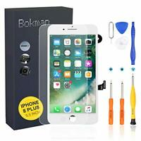 bokman for iPhone 8 Plus White Screen Replacement Parts Full Display Assembly