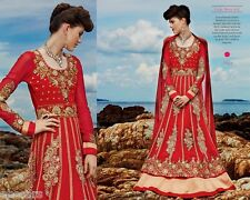 Kimora indio paquistaní de Bollywood Anarkali Suit Vestido De Diseñador Shalwar Kameez