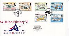 Aviation Decimal Used Channel Islander Regional Stamp Issues