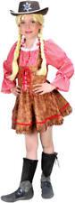 Cowgirl Cowboy Country Girl Kinder Karneval Fasching Kostüm 104