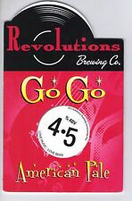 REVOLUTIONS BREWING CO (CASTLEFORD) - GO GO AMERICAN PALE - PUMP CLIP FRONT