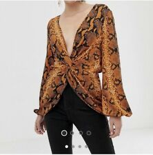 7f83ec847f8166 ASOS Blouse Tops   Shirts Orange for Women for sale