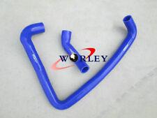 Blue For Nissan Fairlady 300ZX Z32 VG30DETT Silicone Radiator Hose kit 1990-1996
